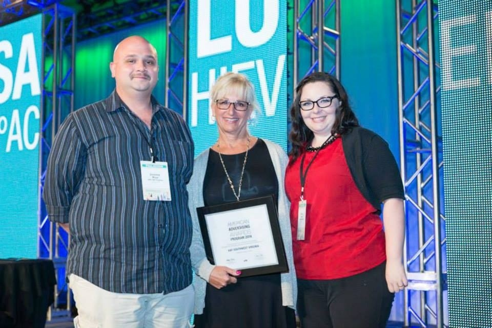 AAF SWVA Receives Honors at AAF National Conference